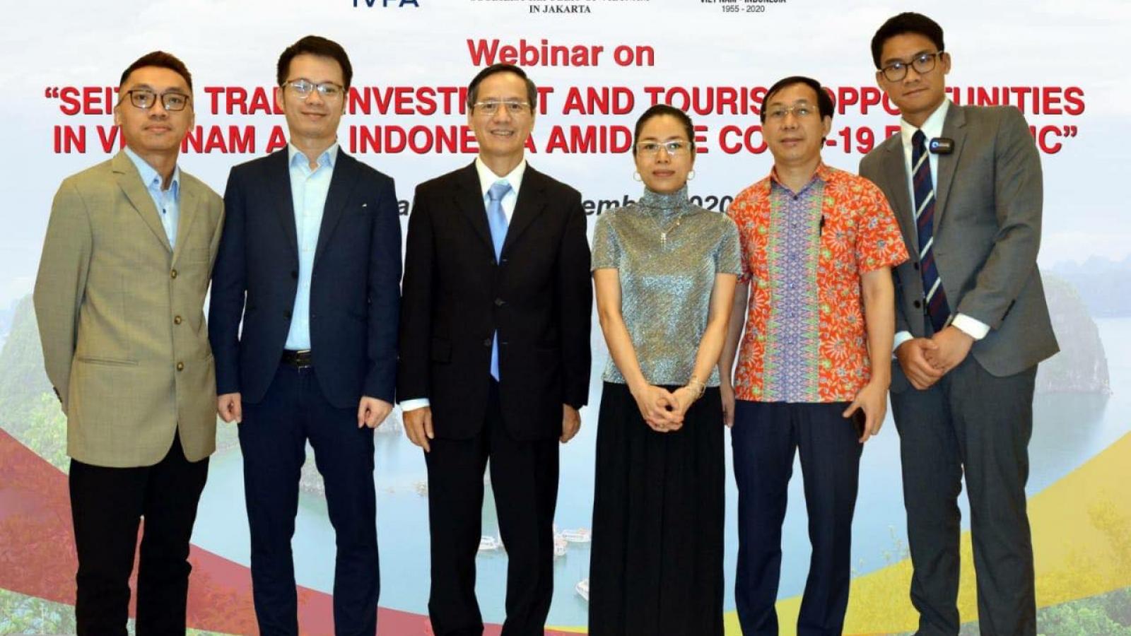 Thúc đẩy đầutư, thương mại và du lịchViệt Nam-Indonesia trong bốicảnhđại dịch