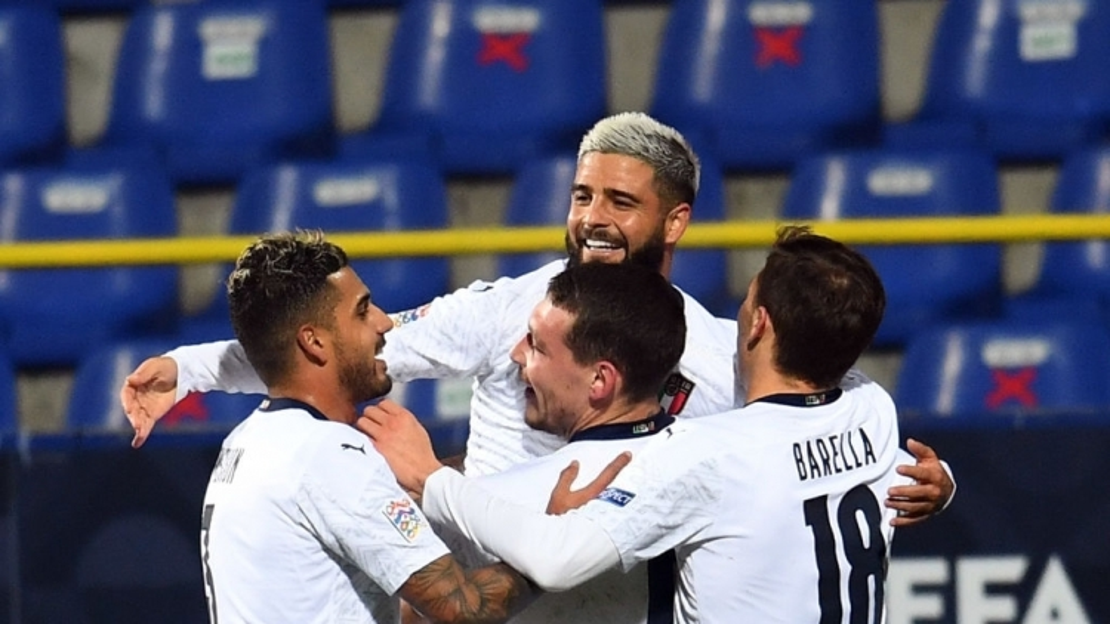 Hạ đẹp Bosnia & Herzegovina, Italia đoạt vé vào VCK Nations League 2020/2021