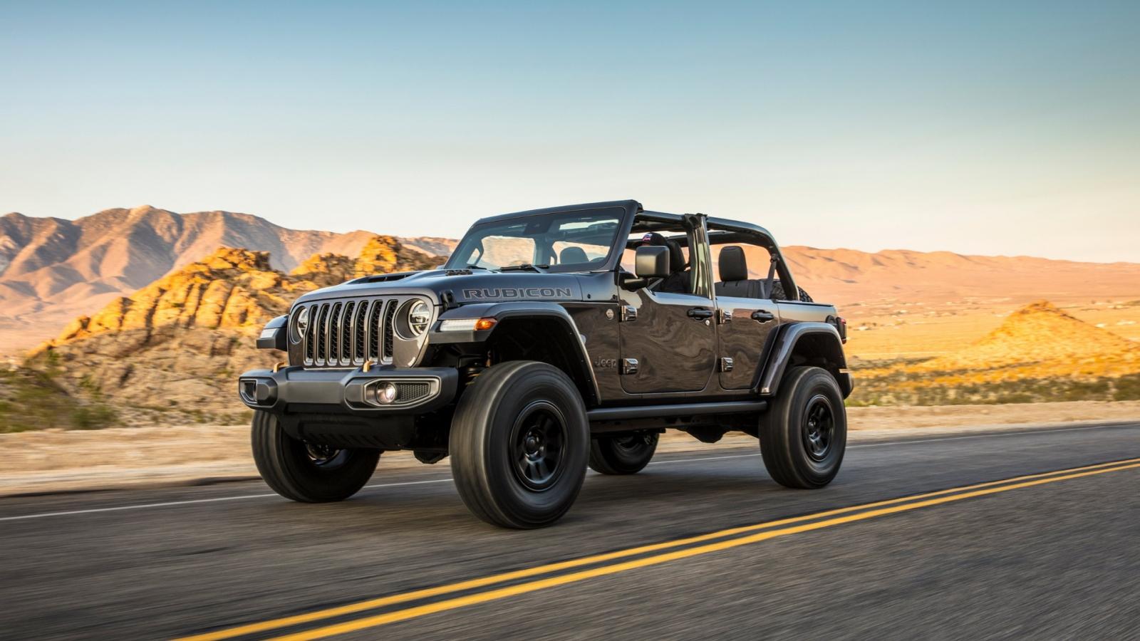 Jeep công bố biến thể Wrangler 392 sử dụng động cơ V8