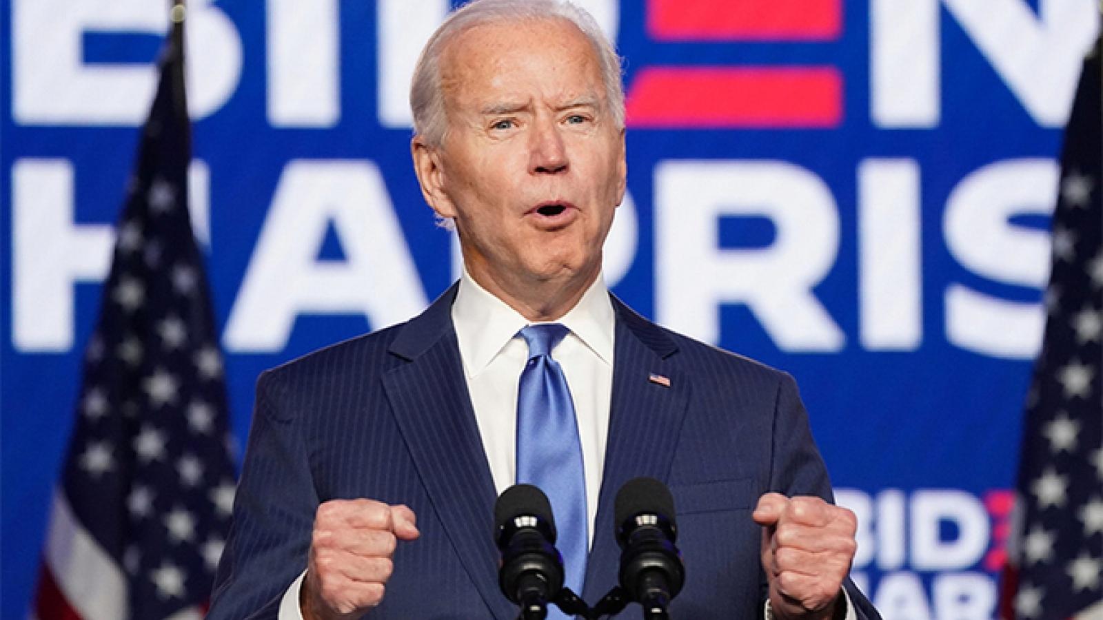 Truyền thông Mỹ: ông Biden đã thắng trong cuộc bầu cử Tổng thống Mỹ