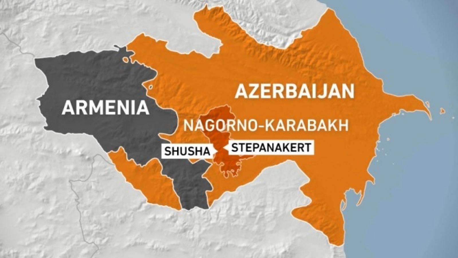 Azerbaijan bắt đầu tiếp nhận quyền kiểm soát các vùng ở Nagorno-Karabakh
