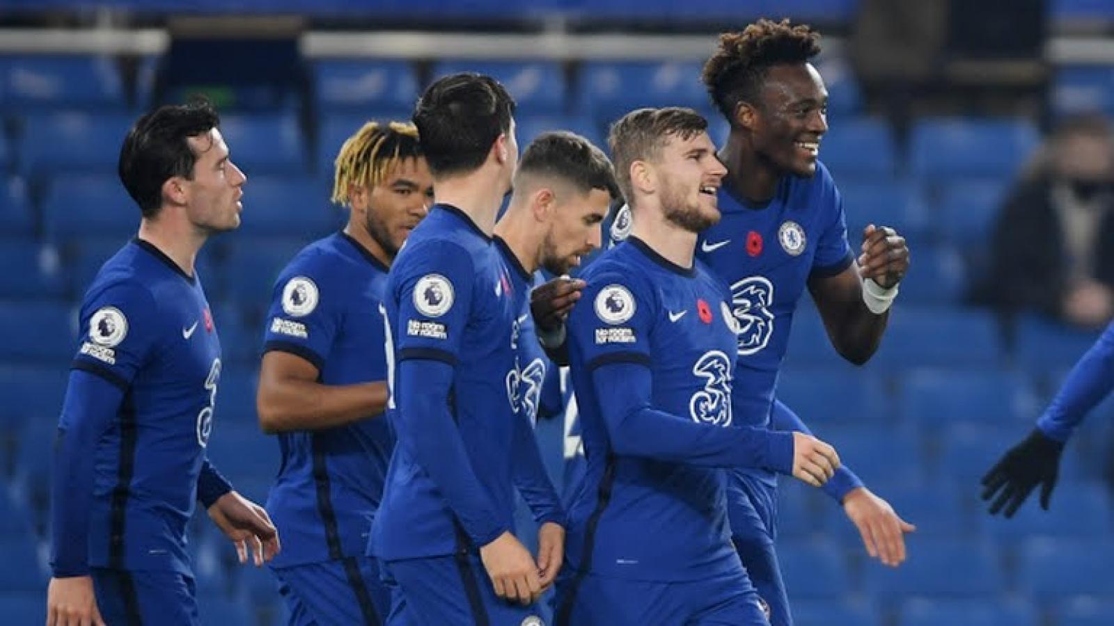 Đè bẹp Sheffield United, Chelsea tiến vào tốp 3