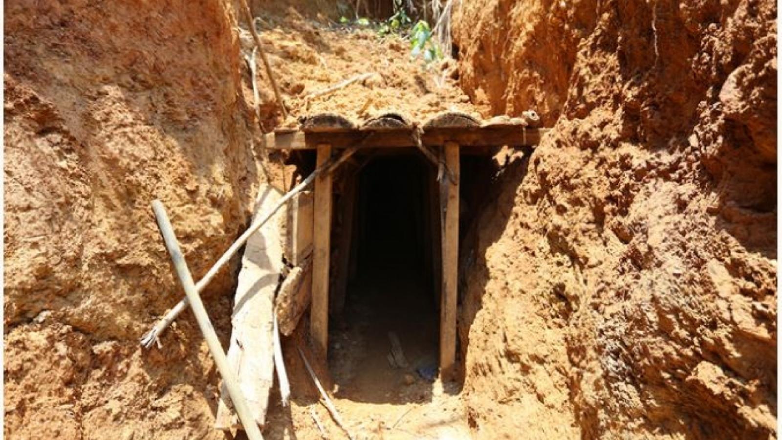 Cao Bằng tạm dừng tìm kiếm người mất tích do đường vào hang bị lấp kín