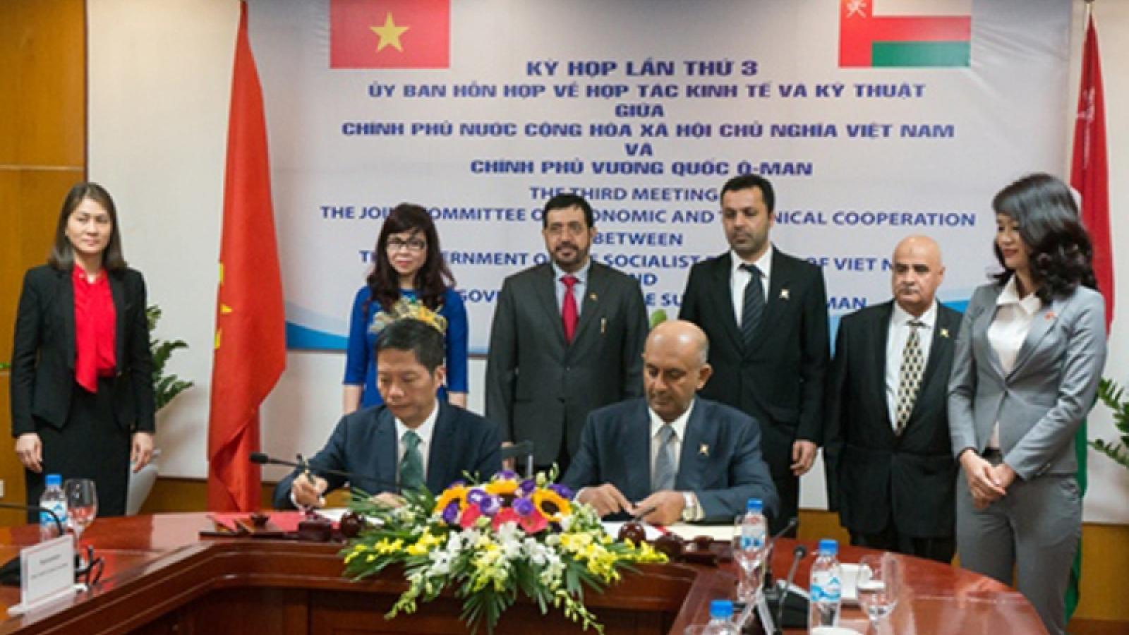 Vietnam, Oman enjoy sound relations across multiple fields