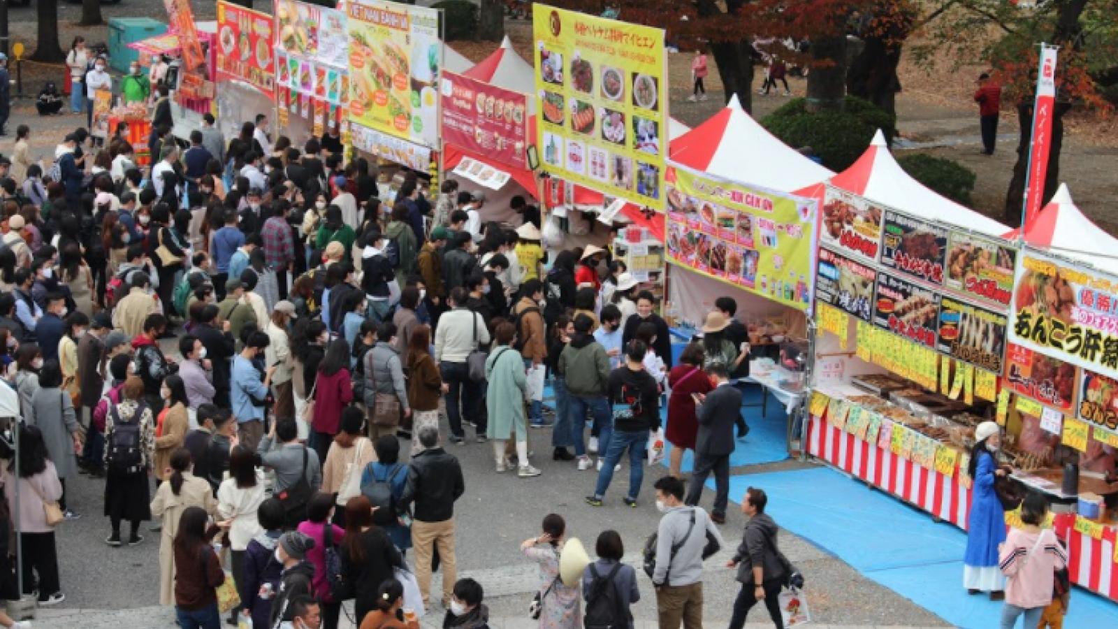 Dù Covid-19, Lễ hội Việt Nam tại Nhật Bản vẫn thu hút hàng nghìn người