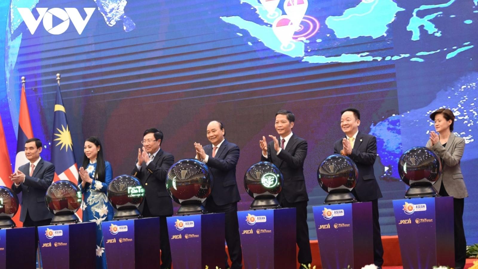 Việt Nam-Singapore đặt viên gạch hồng xây nhịp cầu hợp tác ASEAN