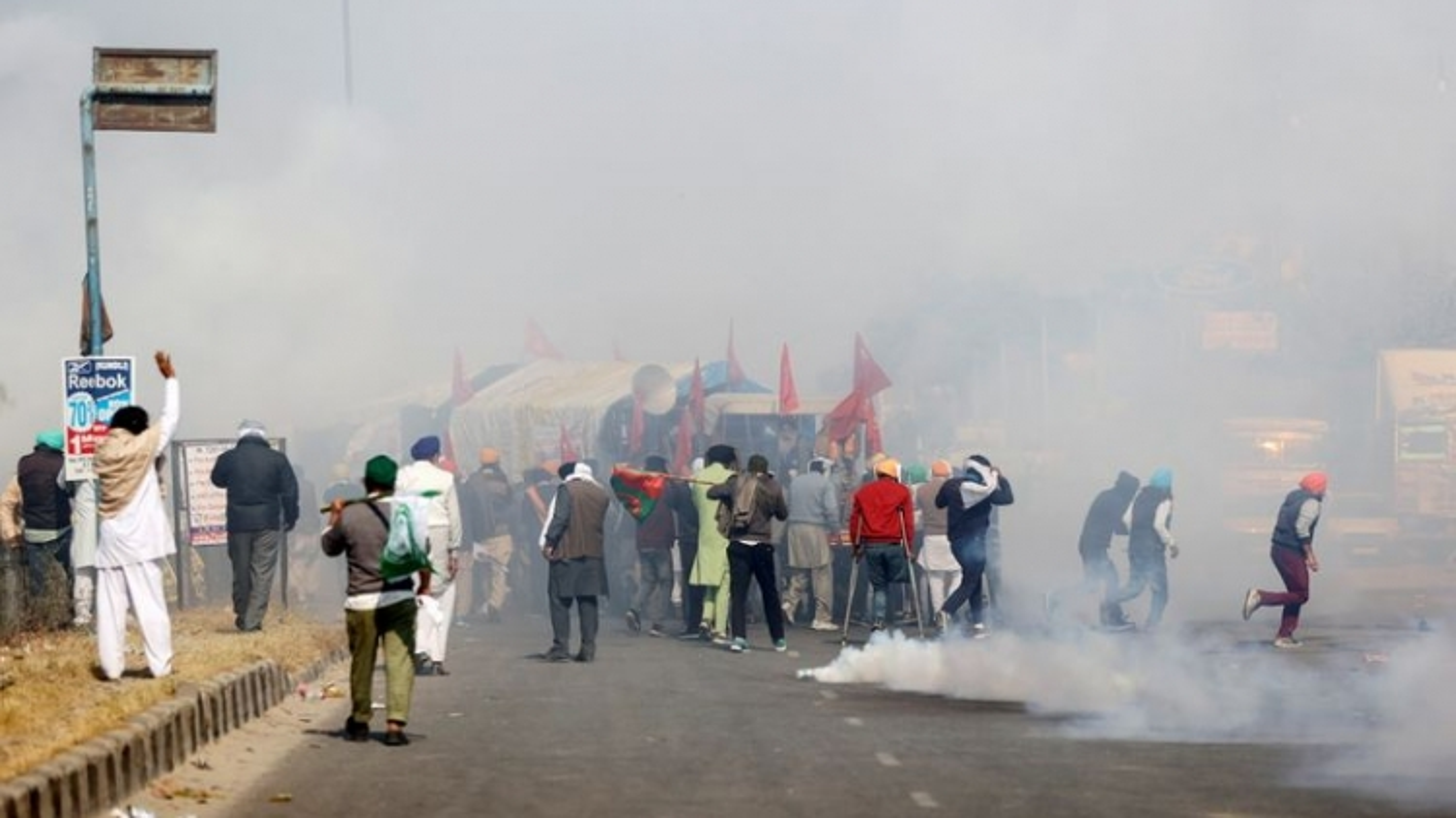 Biểu tình tại thủ đô New Delhi (Ấn Độ) phản đối đạo luật nông nghiệp mới