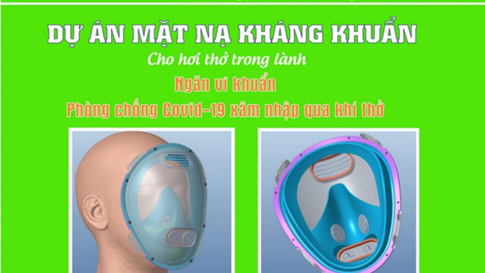 Mặt nạ kháng khuẩn An Land bảo vệ người lao động trong môi trường ô nhiễm không khí