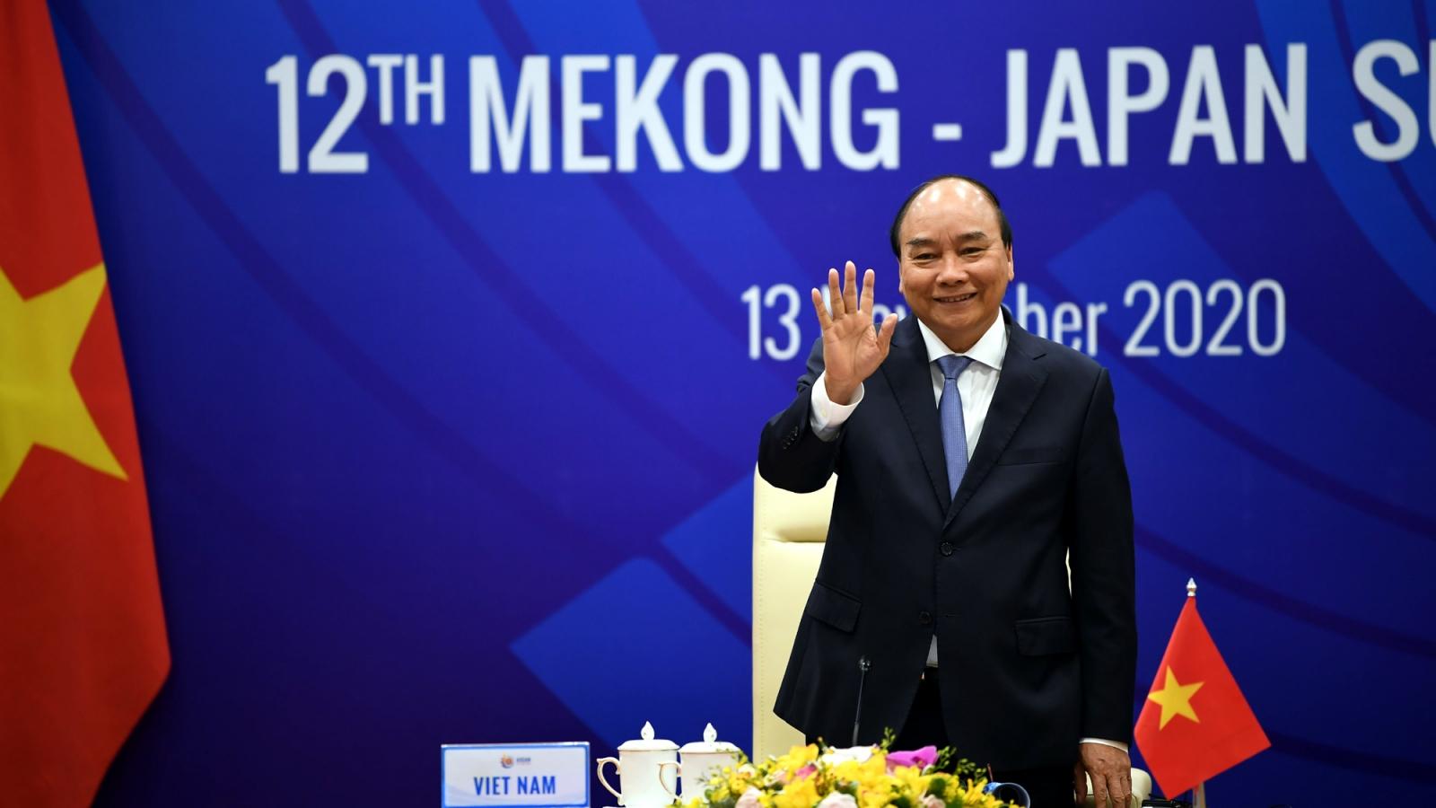 Mekong-Nhật Bản thúc đẩy đối phó Covid-19, phát triển kinh tế khu vực