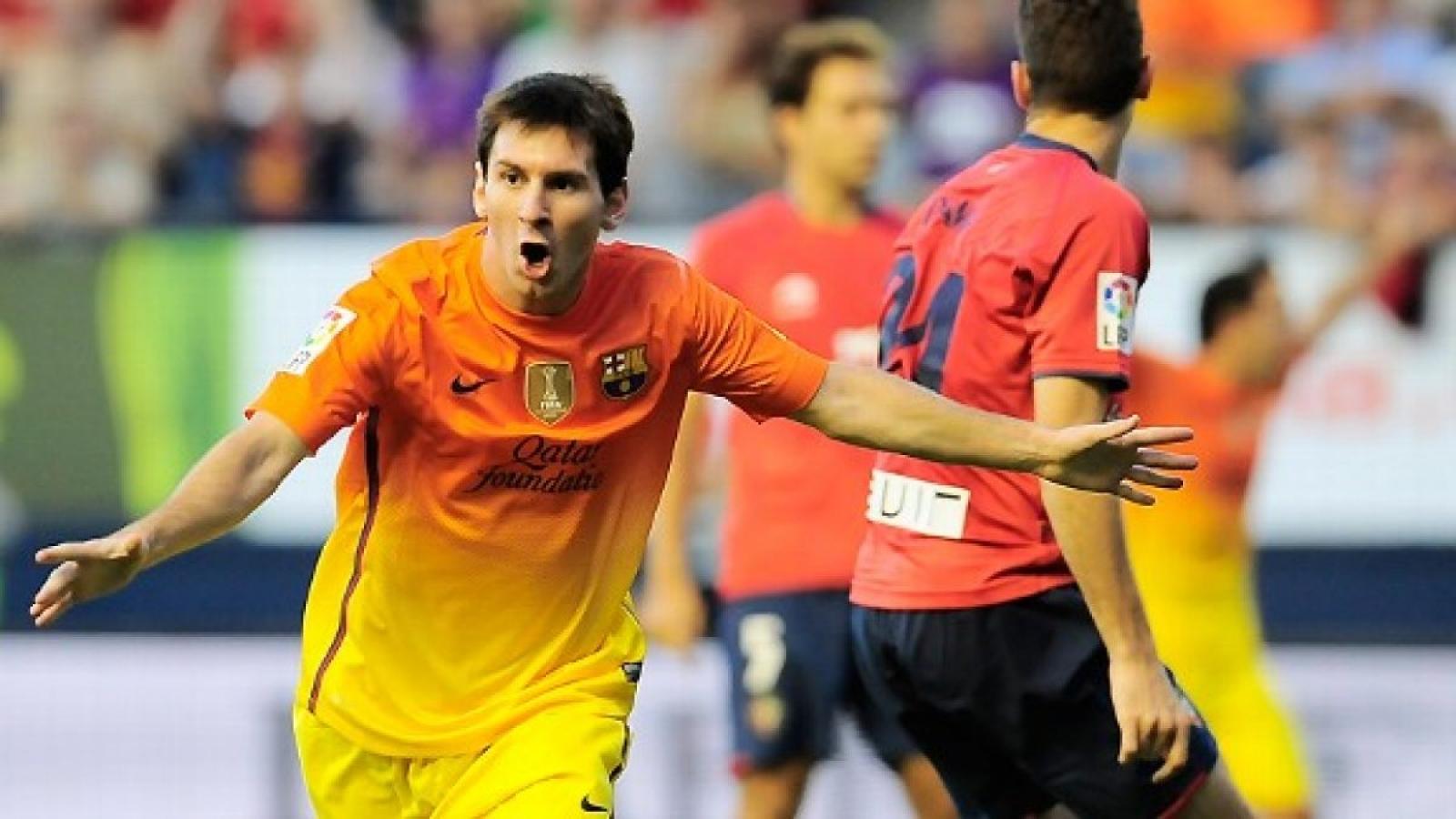 Ngày này năm xưa: Messi đạt kỷ lục ghi bàn khó tin