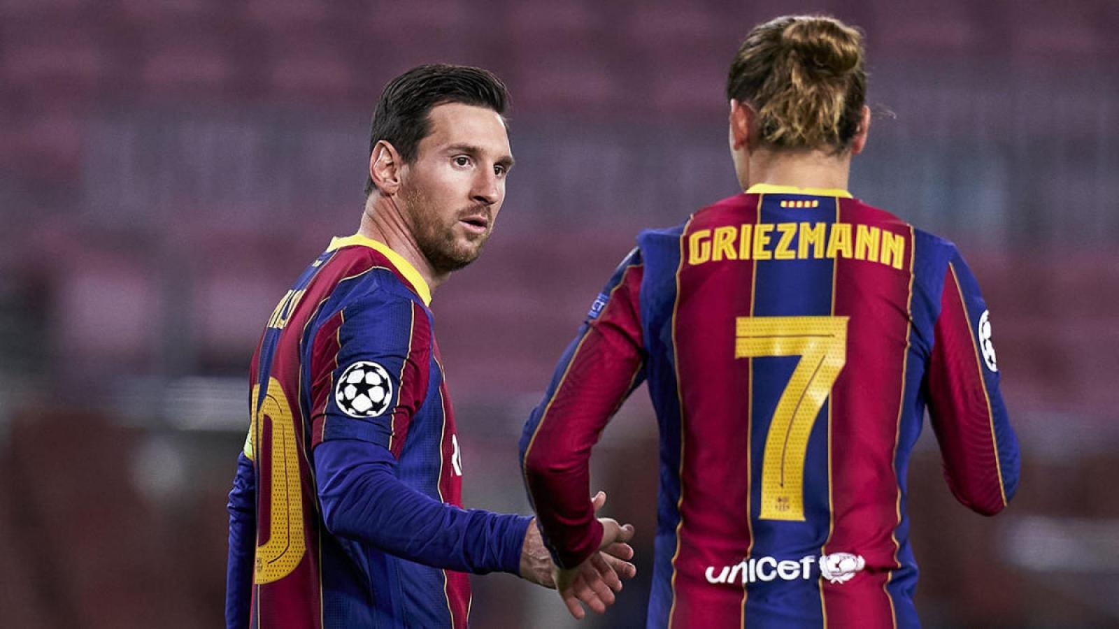 """Messi đăng đàn """"khẩu chiến"""" với người đại diện cũ của Griezmann"""