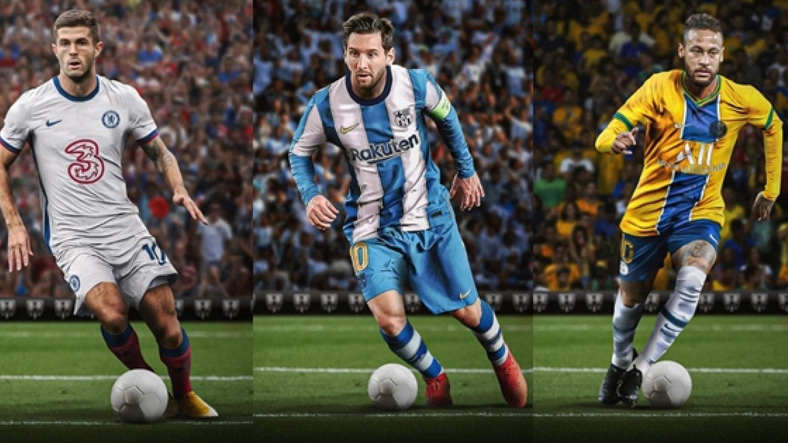 """Vũ trụ bóng đá ngược đời: Những mẫu áo đấu có """"1-0-2"""""""