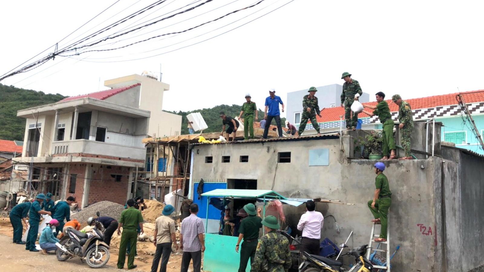 Bộ đội Biên phòng Bình Định chủ động ứng phó bão số 10