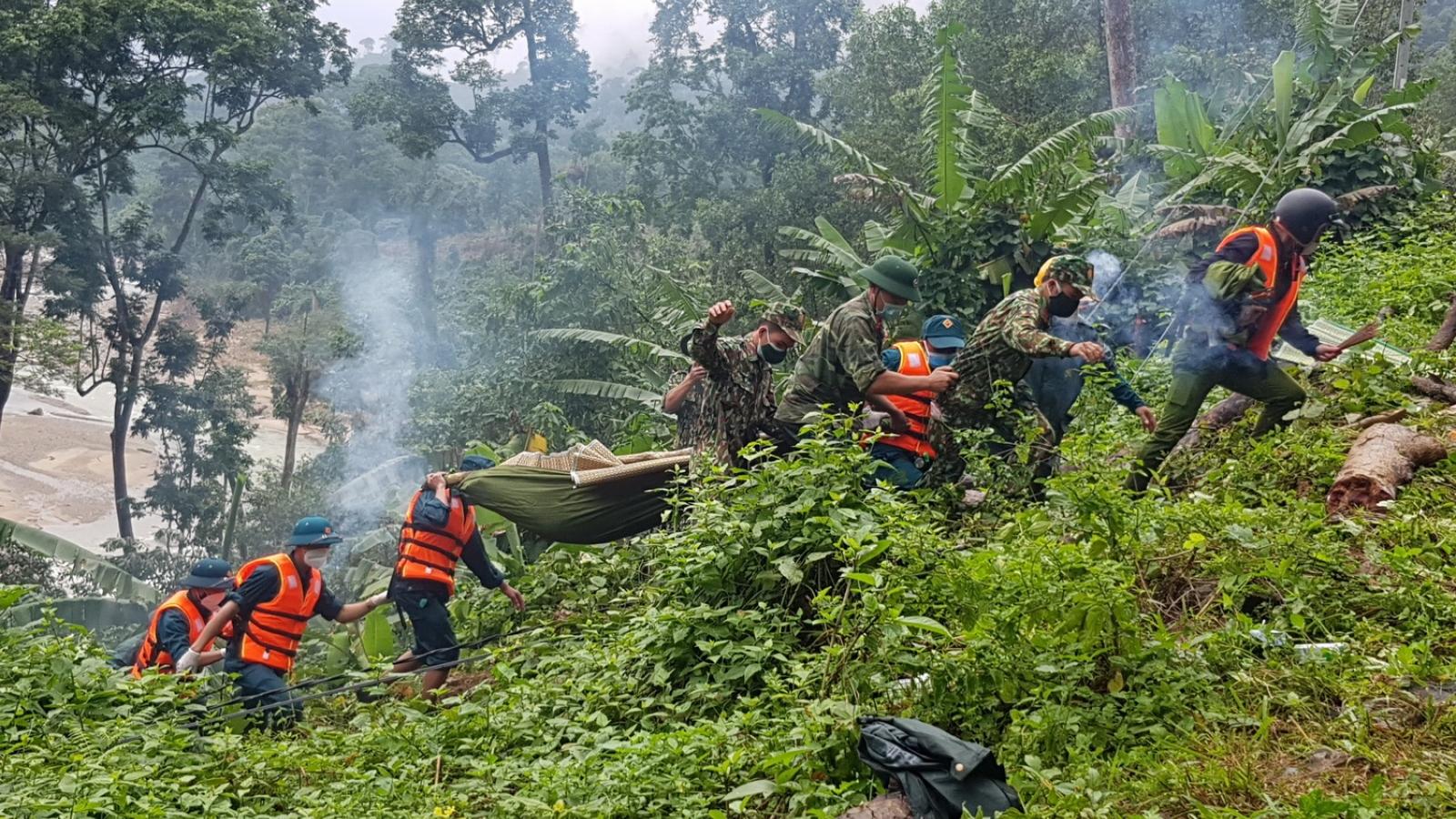 Tìm thấy thêm 1 thi thểtrong vụ sạt lở đất kinh hoàng tại Trà Leng