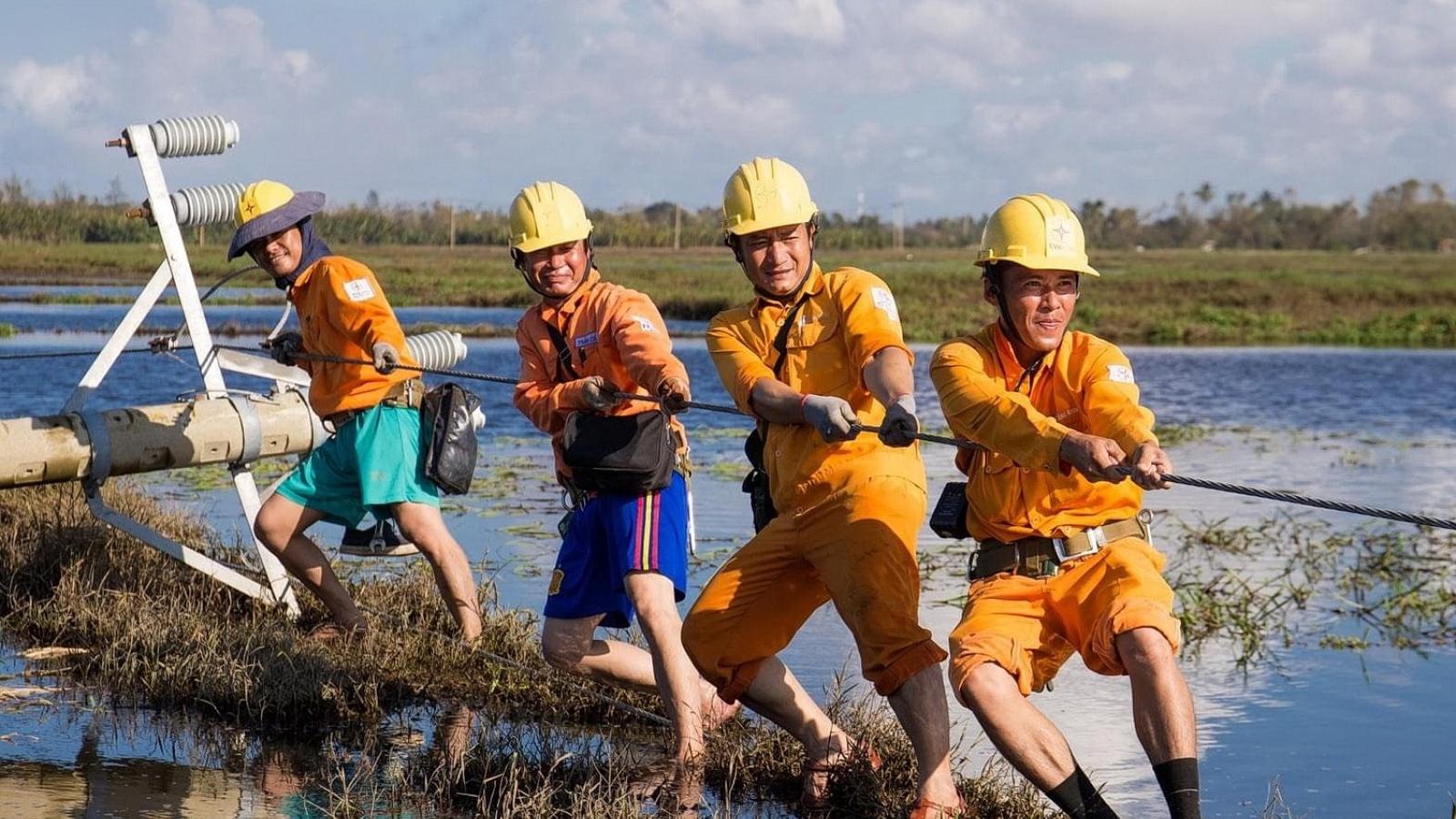 Còn 29 xã ở Quảng Nam, Quảng Ngãi và Kon Tum chưa có điện