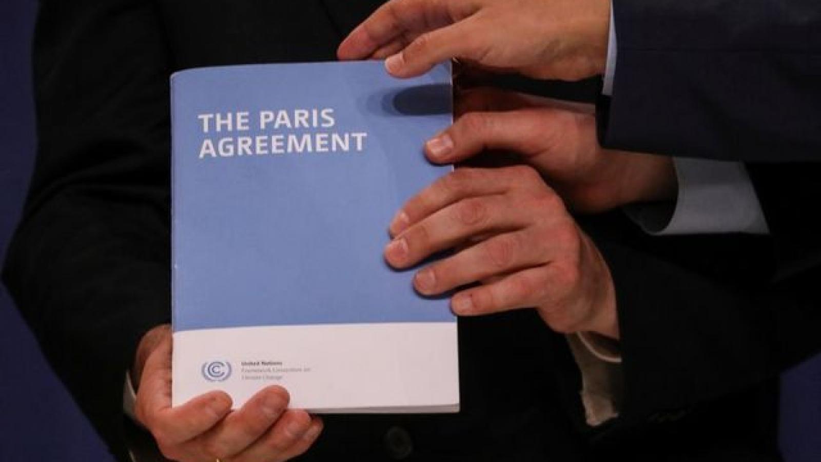Phản ứng của các nước khi Mỹ chính thức rút khỏi Hiệp định khí hậu Paris