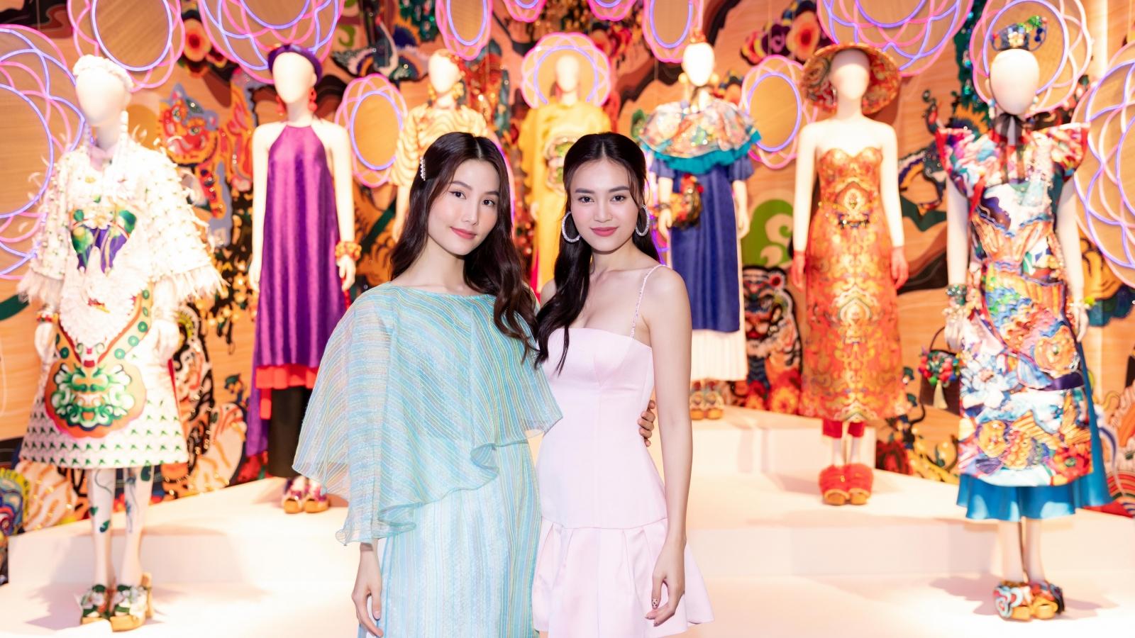 Ninh Dương Lan Ngọc, Diễm My 9x cùng dàn sao đến tham dự triển lãm của NTK Thuỷ Nguyễn