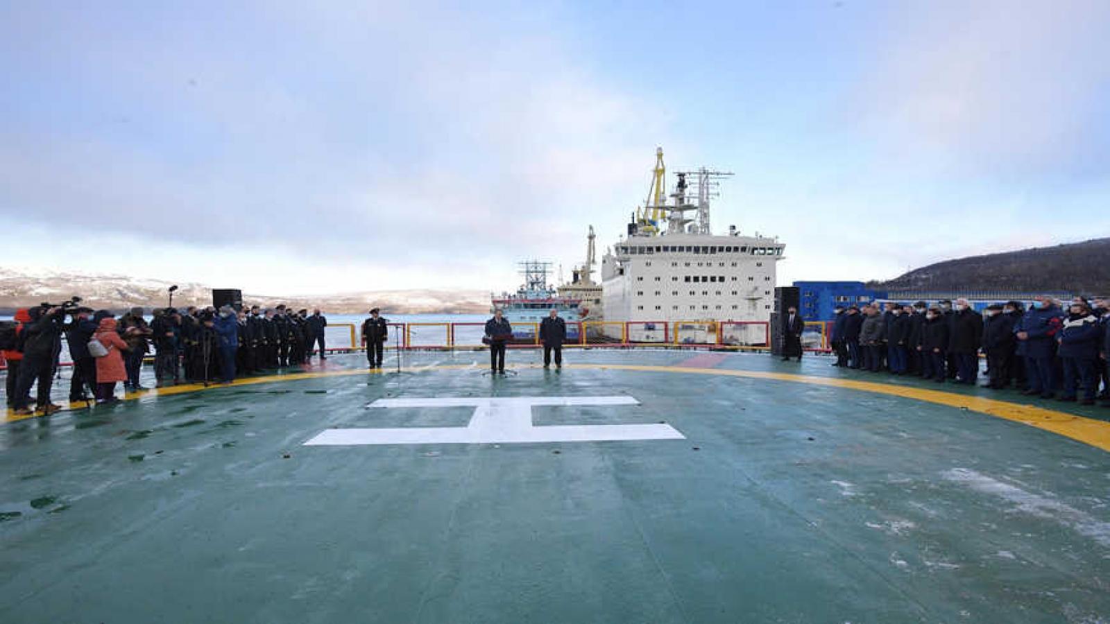 Nga thiết lập căn cứ hải quân đầu tiên tại Ấn Độ Dương
