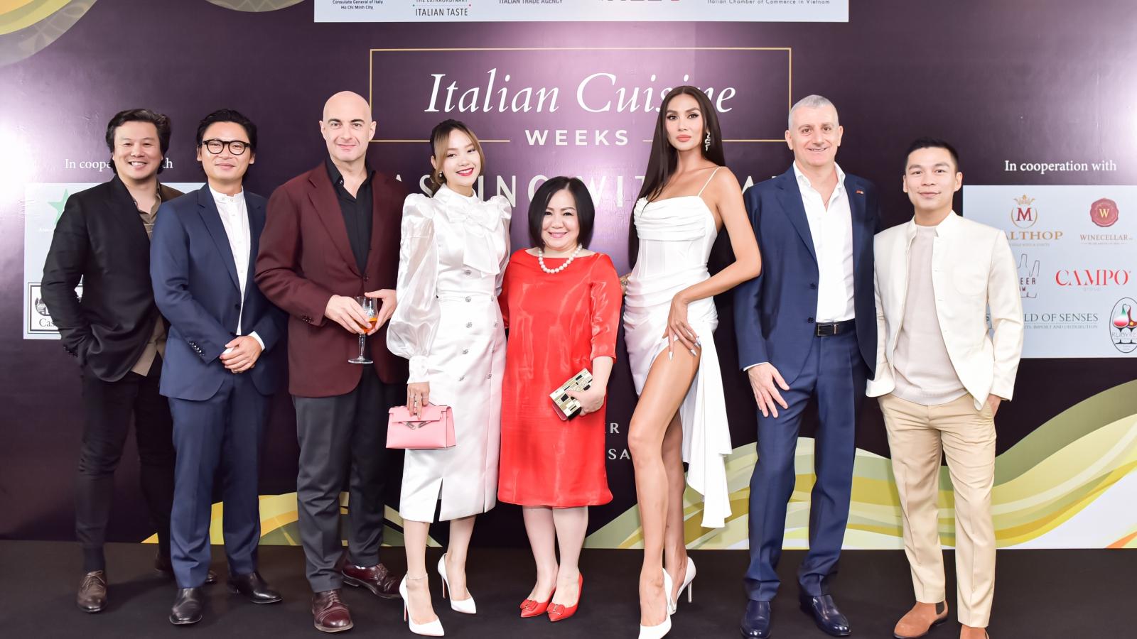 Đêm dạ tiệc ẩm thực Italy tại Việt Nam quy tụ dàn khách mời đình đám