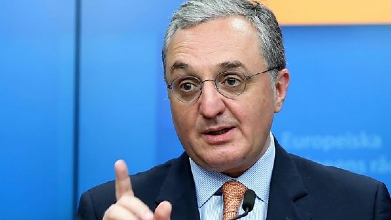 Ngoại trưởng Armenia từ chứctrước áp lực sau lệnh ngừng bắn với Azerbaijan