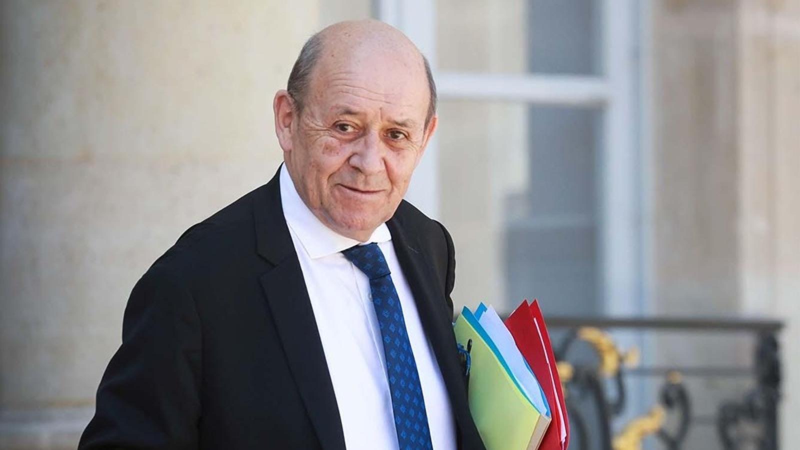 Ngoại trưởng Pháp thăm Ai Cập với sứ mệnh hòa giải với thế giới Hồi giáo