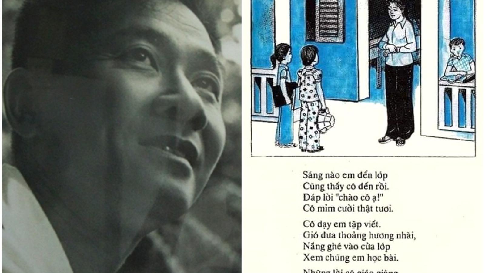 """Nhà thơ Nguyễn Xuân Sanh: """"Dư hương một cuộc đời tận hiến"""""""