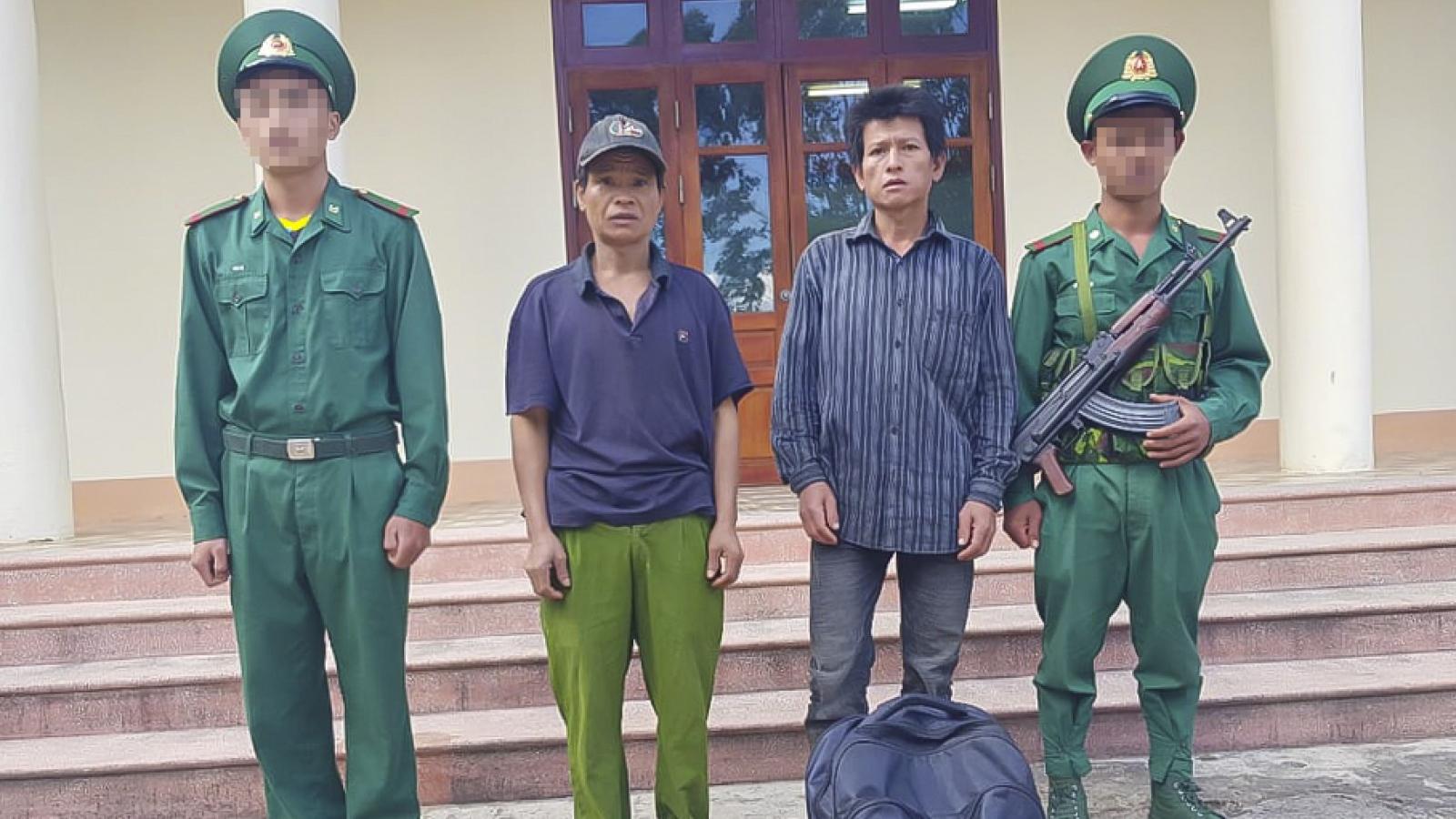 Phát hiện 2 người Lào nhập cảnh trái phép