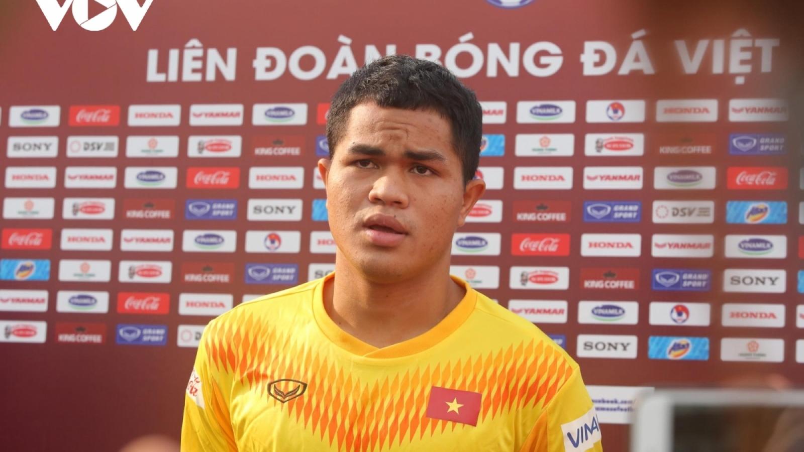 Sao trẻ HAGL chấn thương, không tập cùng U22 Việt Nam