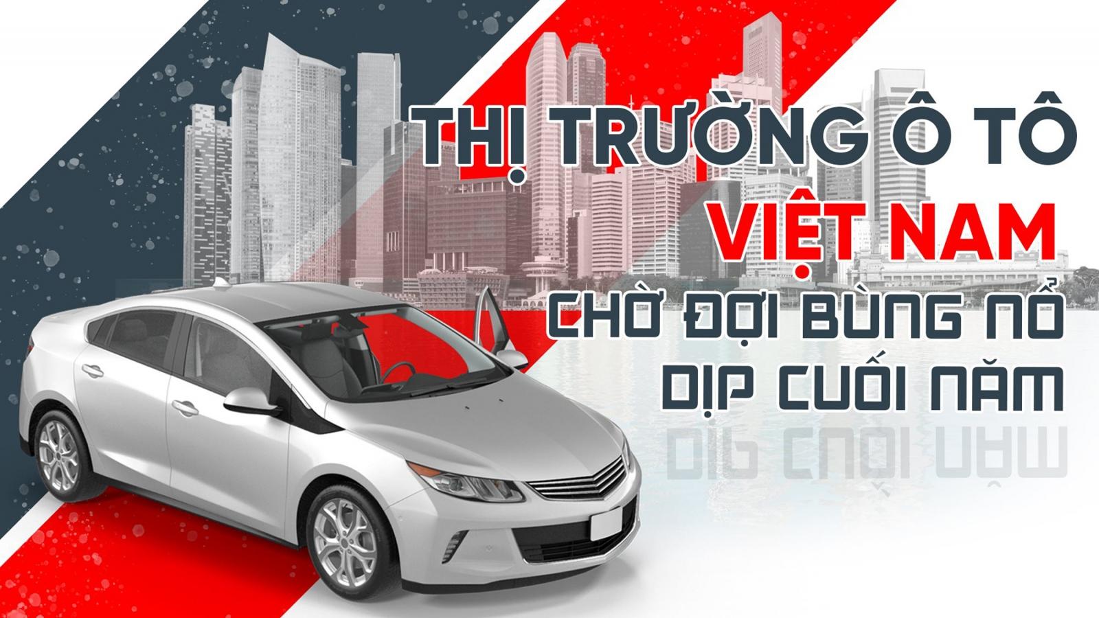Thị trường ô tô Việt Nam chờ đợi bùng nổ dịp cuối năm