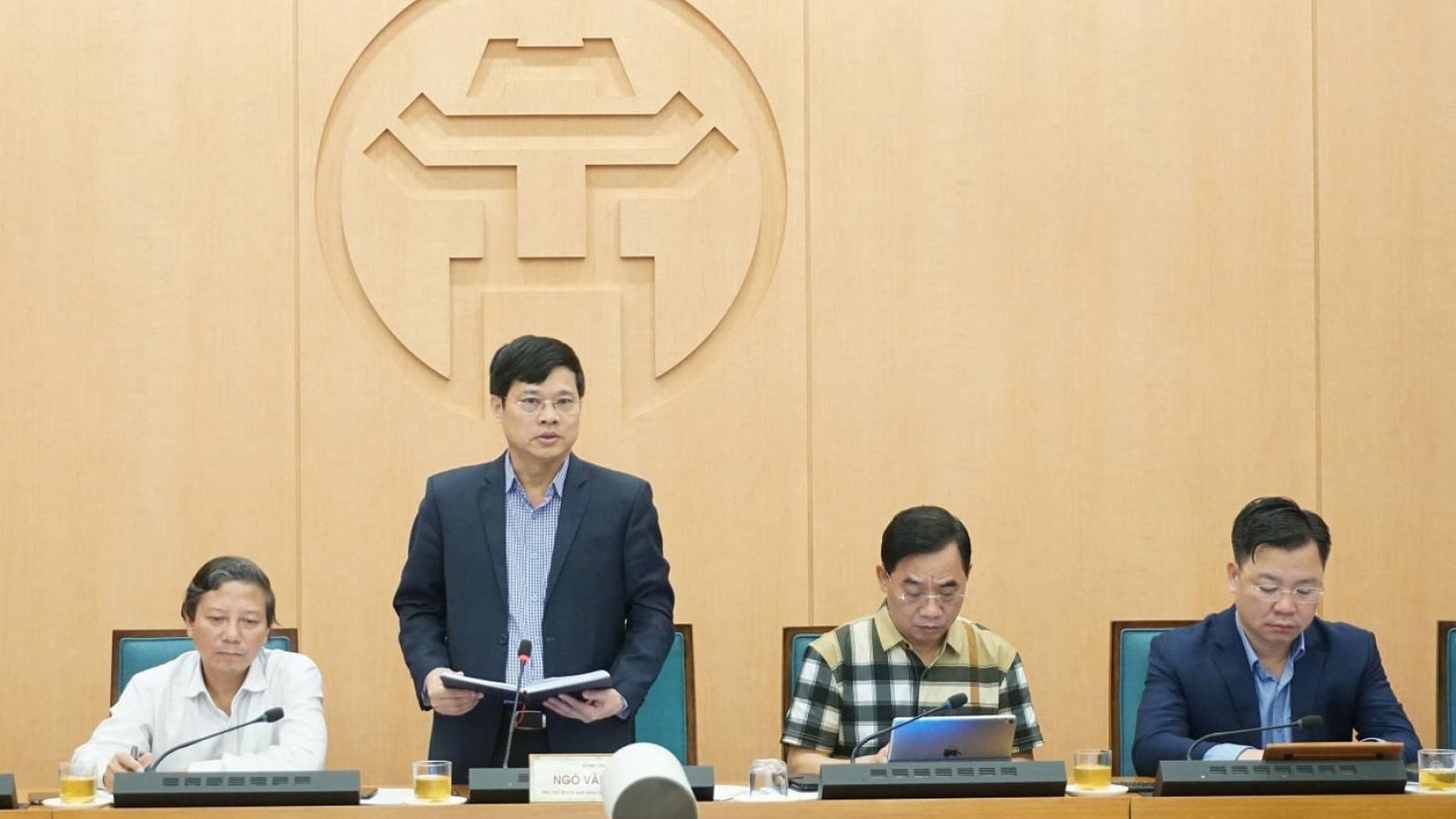 Một số bệnh viện tại Hà Nội lại có biểu hiện chủ quan phòng chống dịch Covid-19