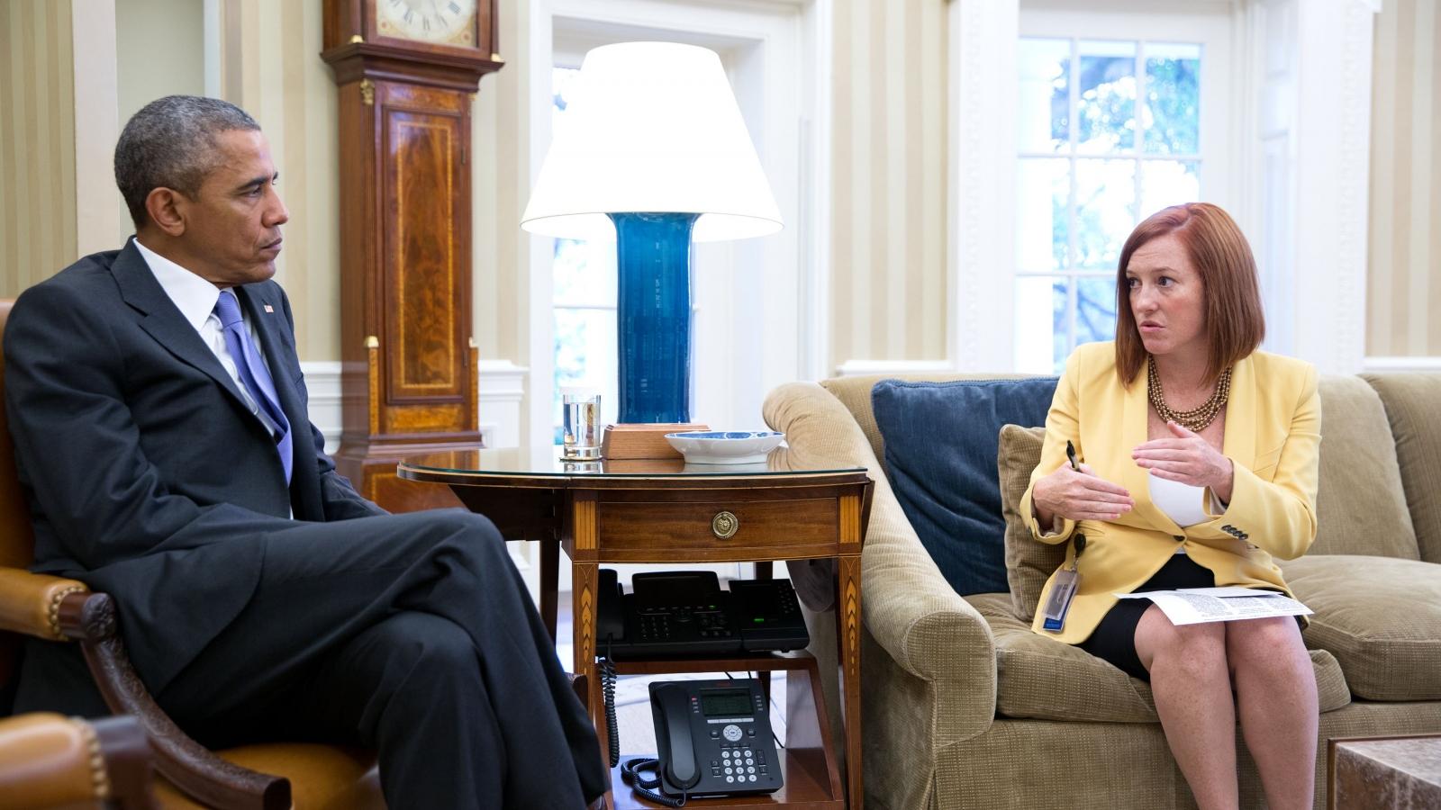 Toàn bộ thành viên nhóm truyền thông Nhà Trắng của ông Biden đều là nữ
