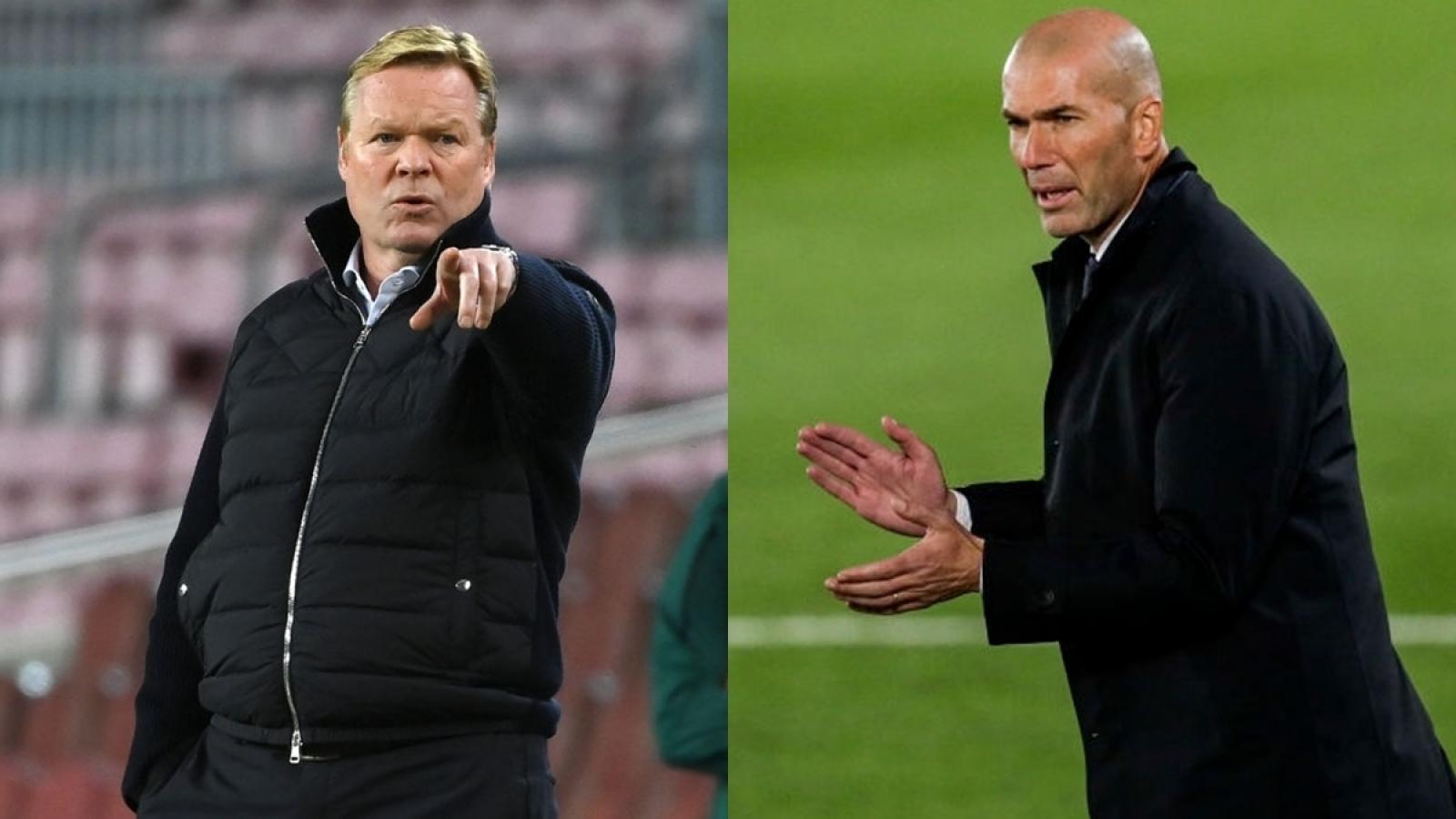 Vòng 10 La Liga 2020/2021: Zidane và Koeman đi trên dây