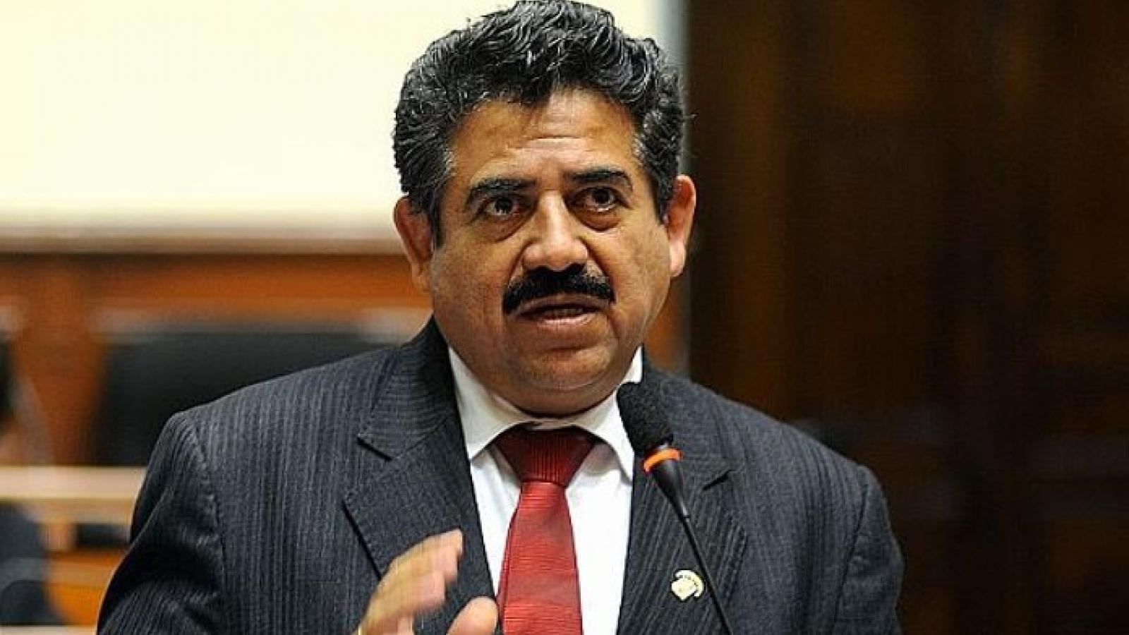 Người đứng đầu Quốc hội Peru tuyên thệ nhậm chức tổng thống