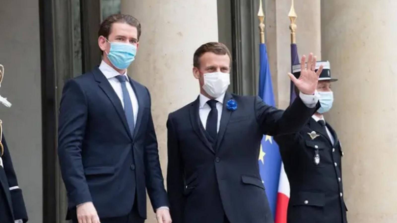 Lãnh đạo Pháp, Đức, Áo thảo luận chiến lược chống khủng bố