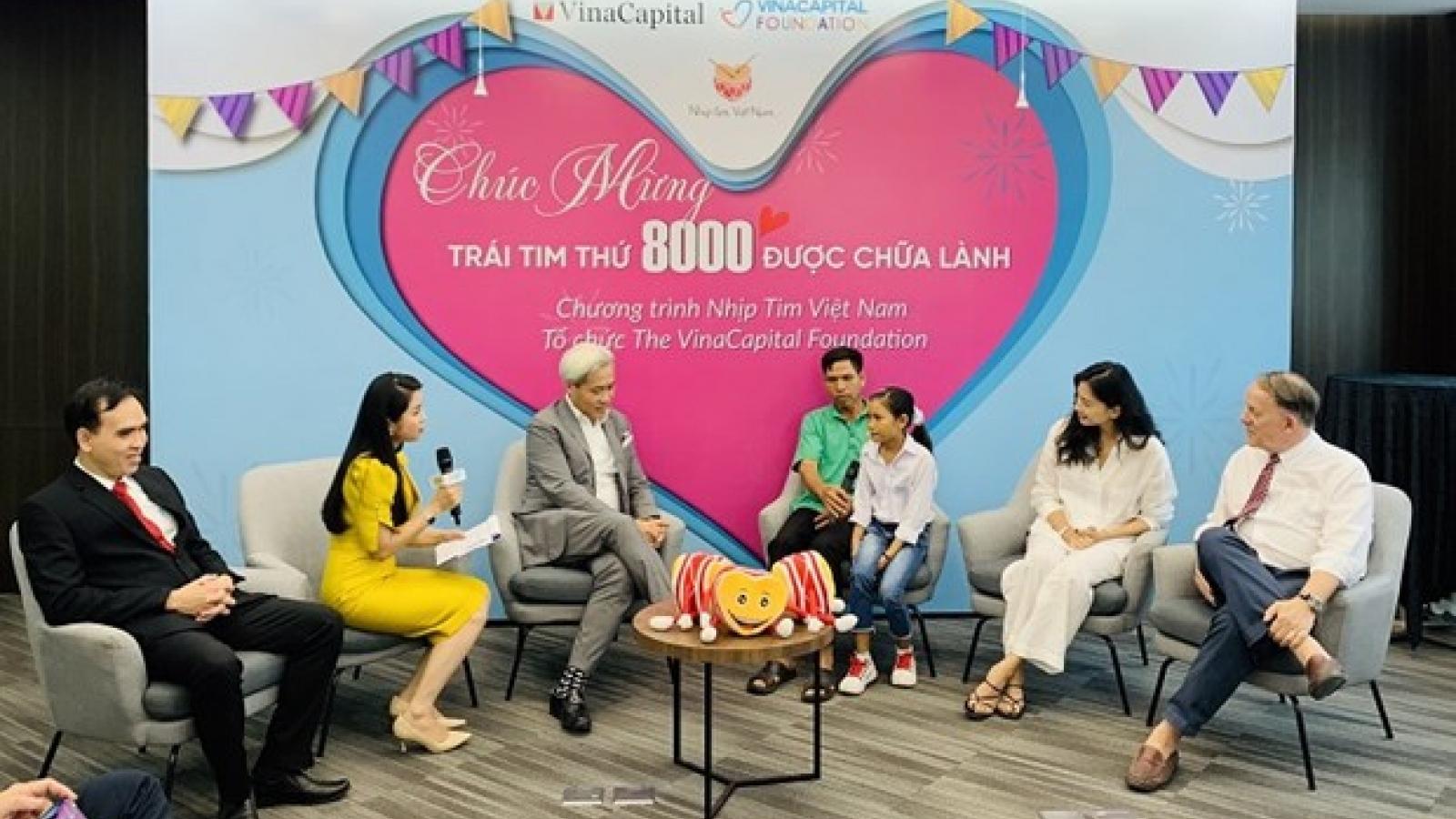 HeartBeat Vietnam funds 8,000 heart operations for disadvantaged children