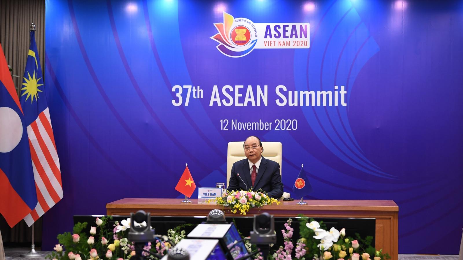 Phiên toàn thể Hội nghị Cấp cao ASEAN 37: Thúc đẩy phục hồi tổng thể thời kỳ hậu Covid-19