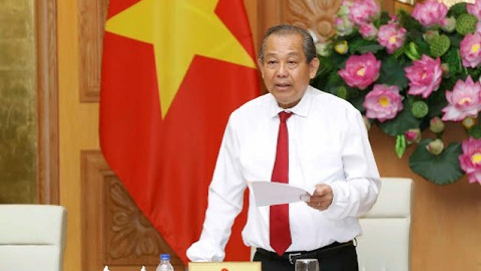 Phó Thủ tướng Thường trực gửi thư khen thành tích triệt phá vụ án 51kg vàng