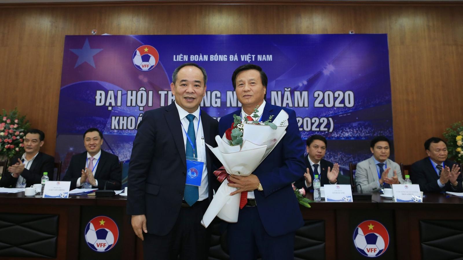 Ông Lê Văn Thành trúng cử Phó Chủ tịch phụ trách tài chính VFF