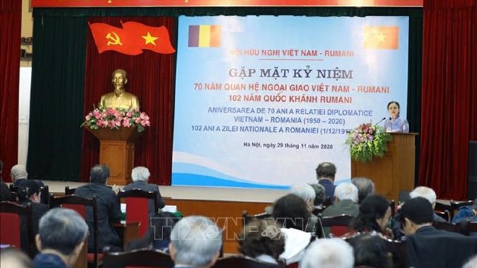 Hanoi celebrates 70th anniversary of Vietnam-Romania diplomatic relations