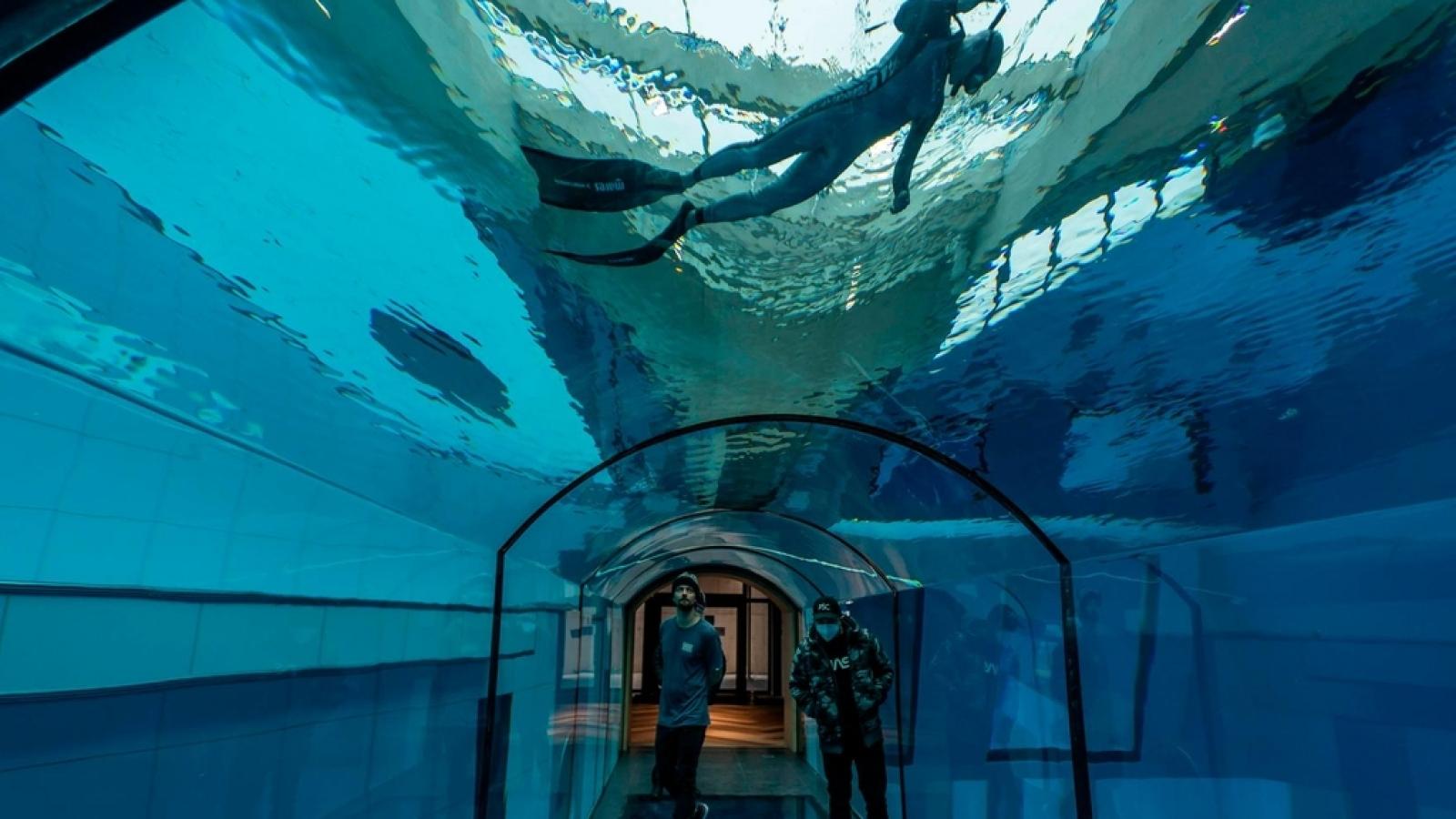 Ba Lan khai trương bể lặn sâu nhất thế giới