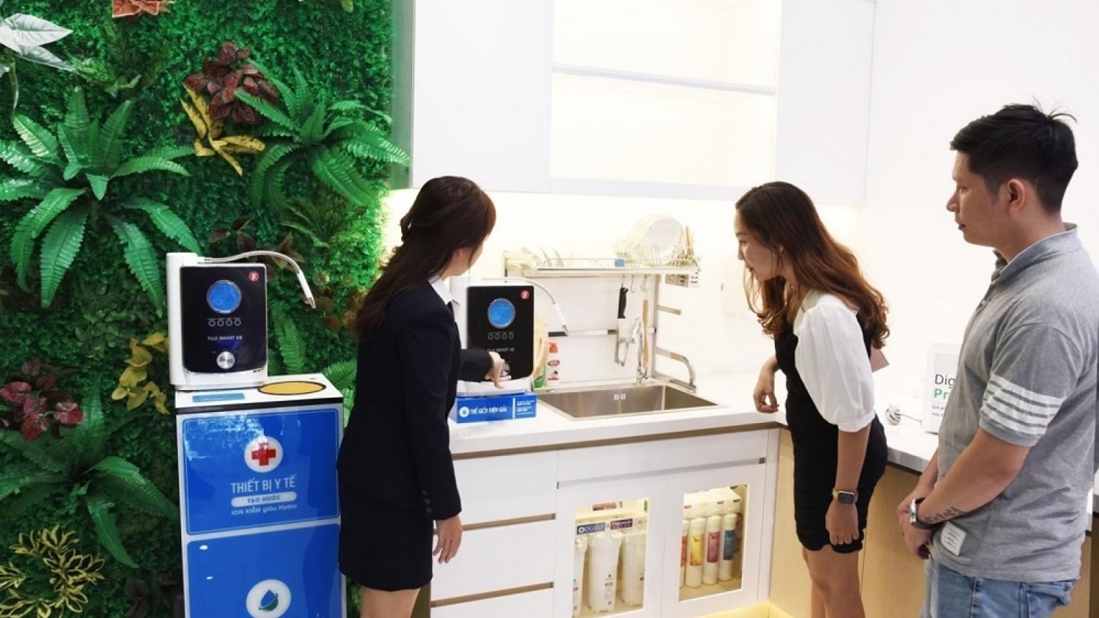 Khám phá shophouse máy lọc nước ion kiềm mới nhất của Thế Giới Điện Giải