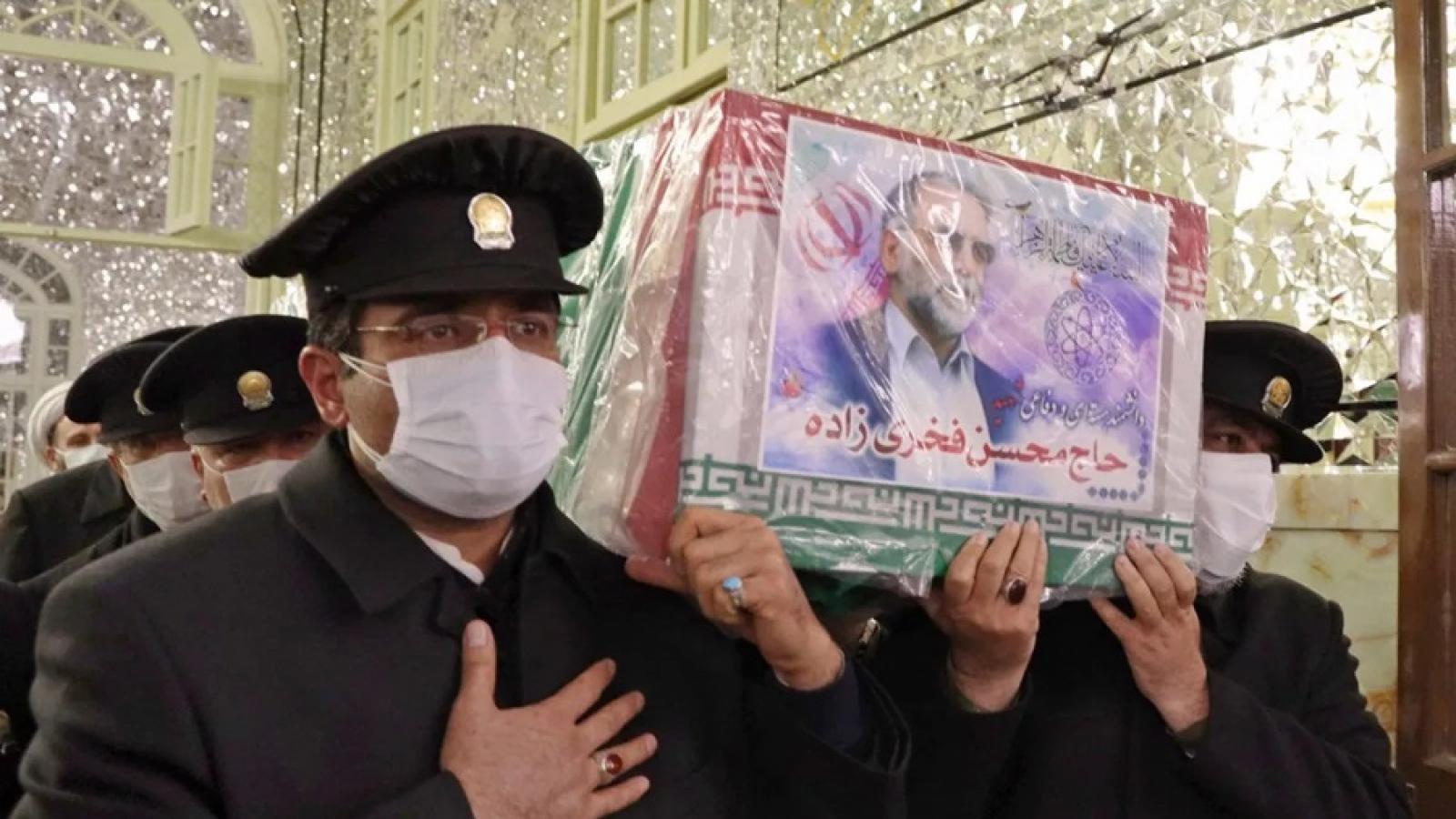 Bí hiểm rợn người trong vụ ám sát nhà khoa học hạt nhân Iran Fakhrizadeh