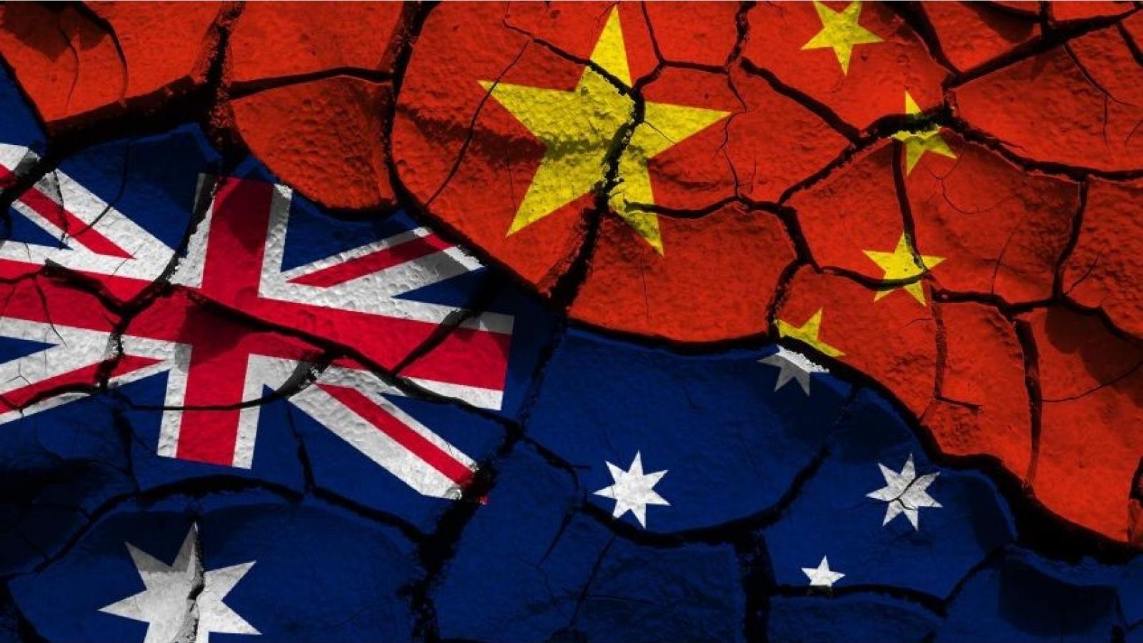 Australia phản bác cứng rắn trước cáo buộc của Trung Quốc