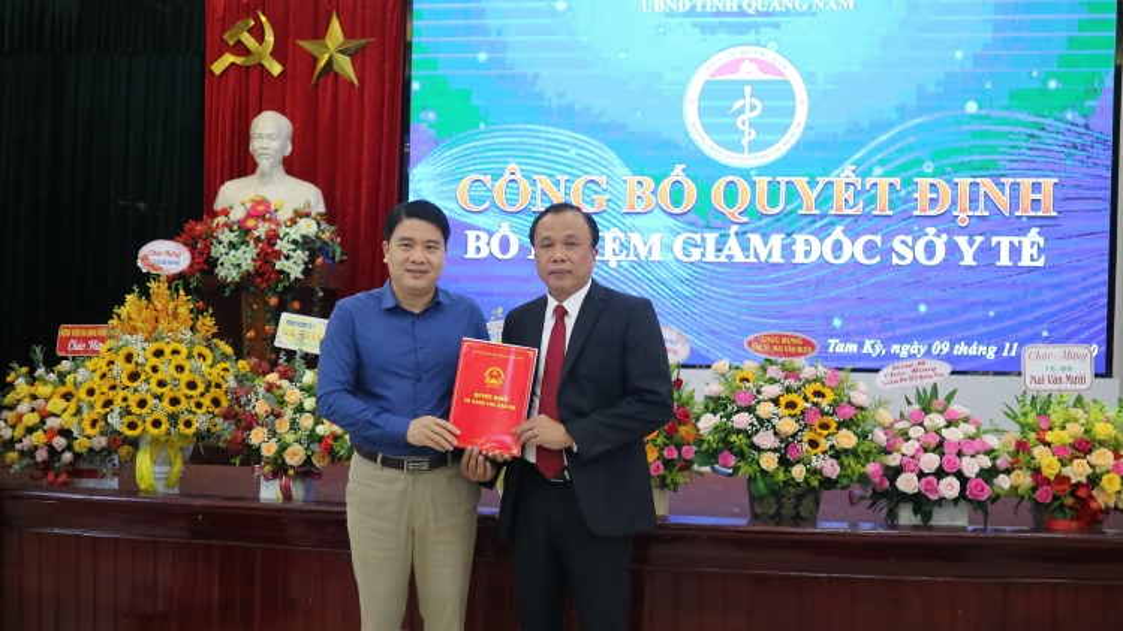 Quảng Nam: Điều động, bổ nhiệm hàng loạt cán bộ chủ chốt