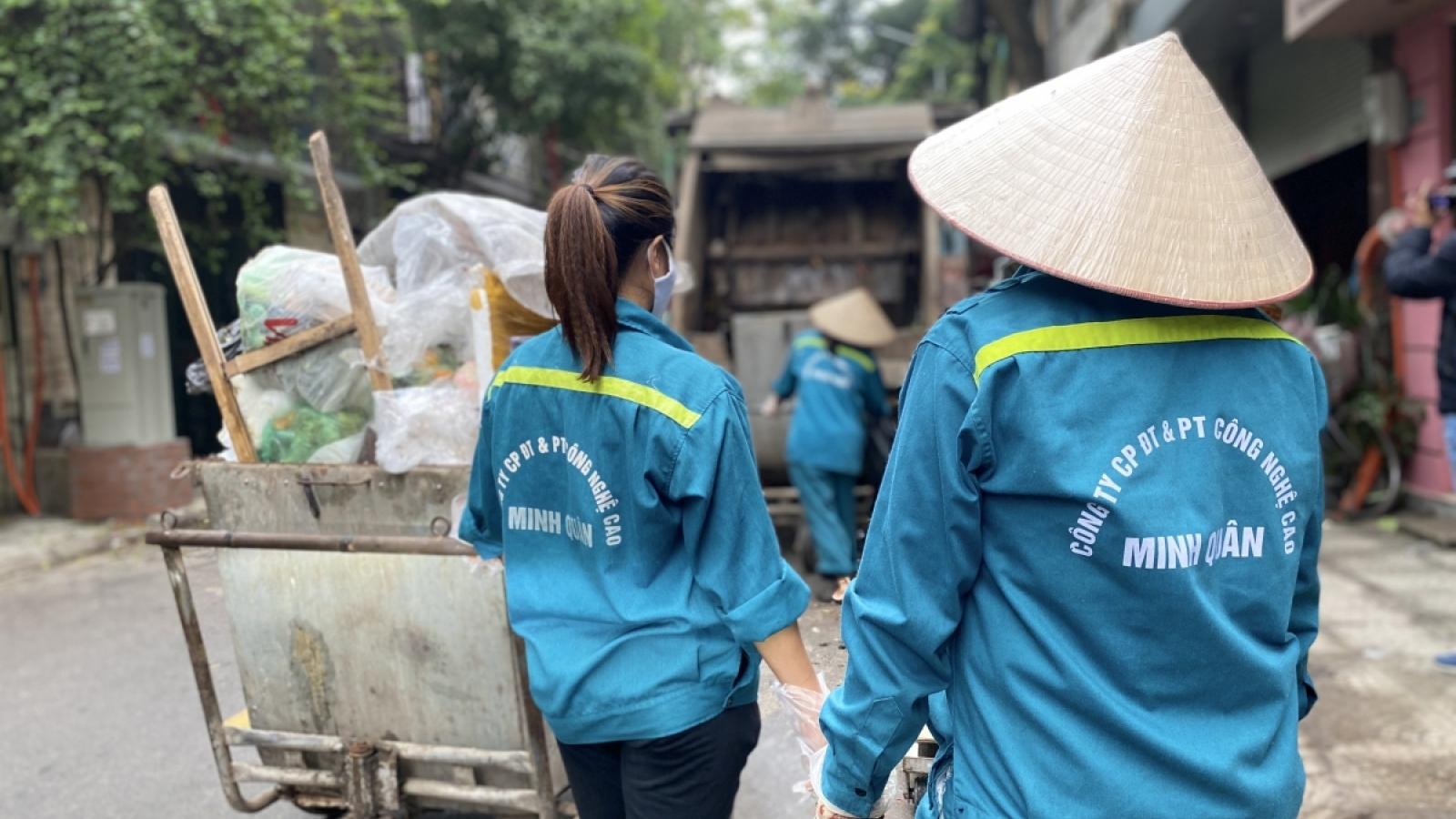 Lại là rác ở Hà Nội