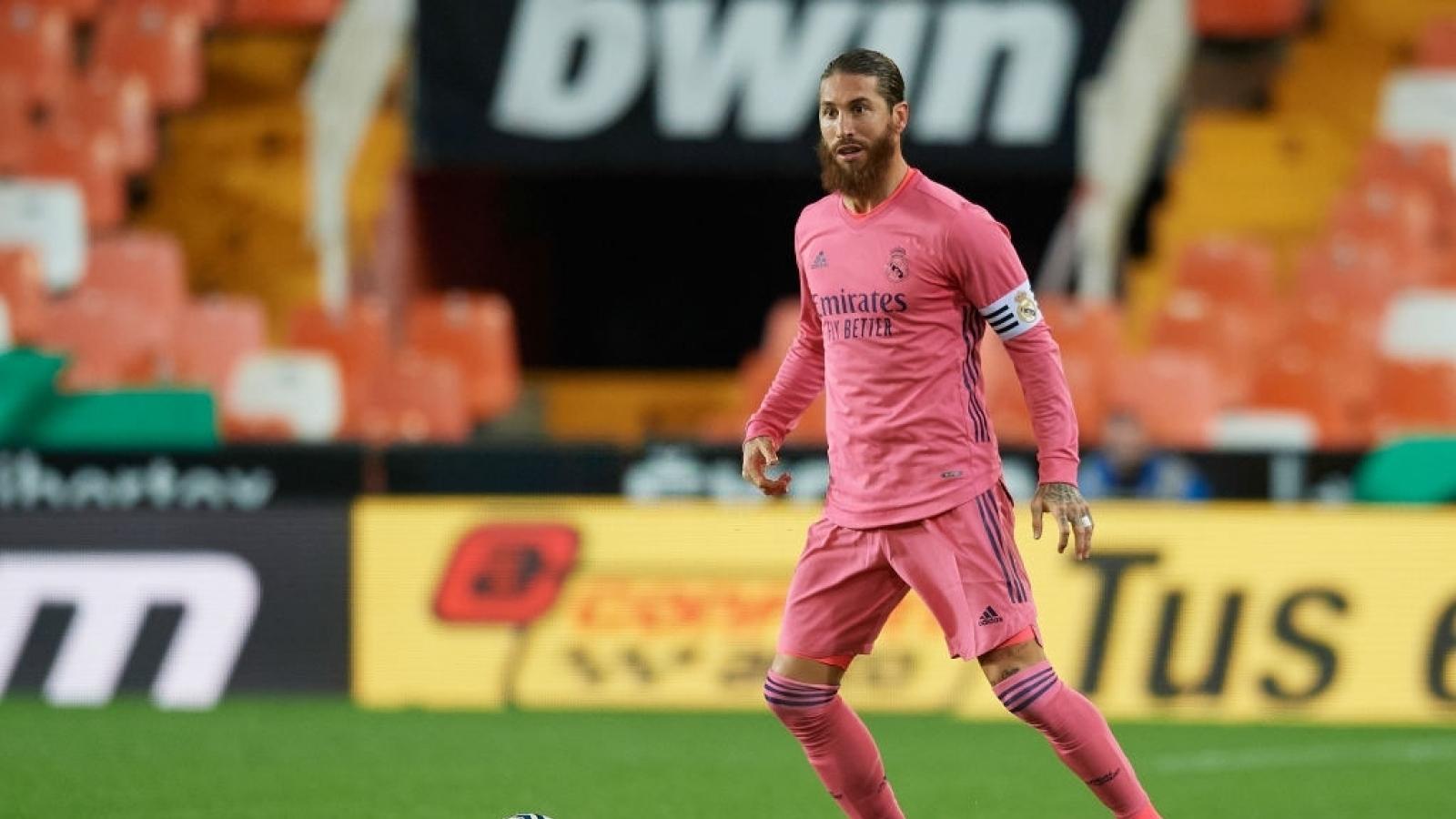 Ramos bị gạch tên ở trận chiến quyết định của Real Madrid