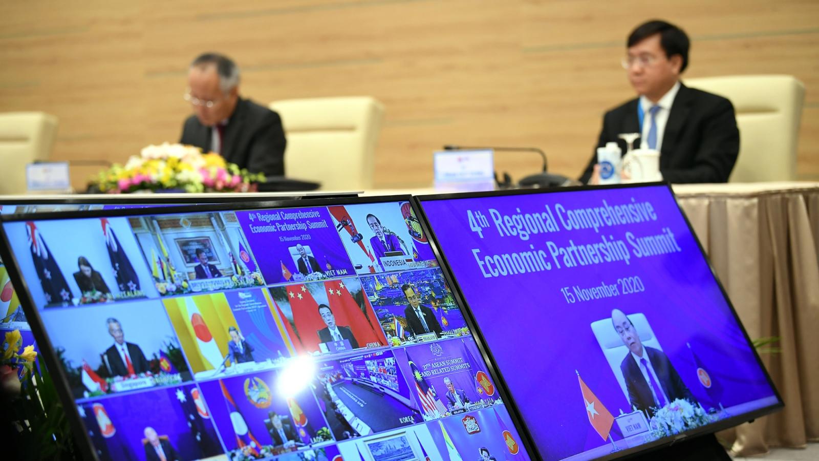 Hiệp định RCEP chính thức kết thúc hoàn toàn đàm phán và chuẩn bị ký kết