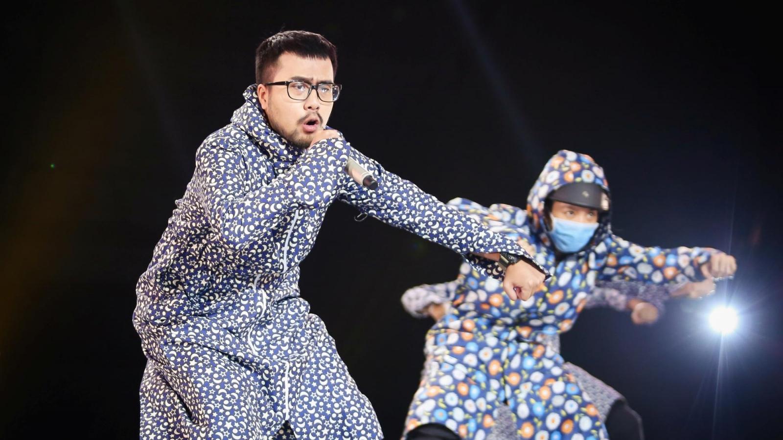 """Rica hoá """"Ninja-Lead"""" trên sân khấu, Dablo - Captain rap về Covid-19 và lũ lụt miền Trung"""