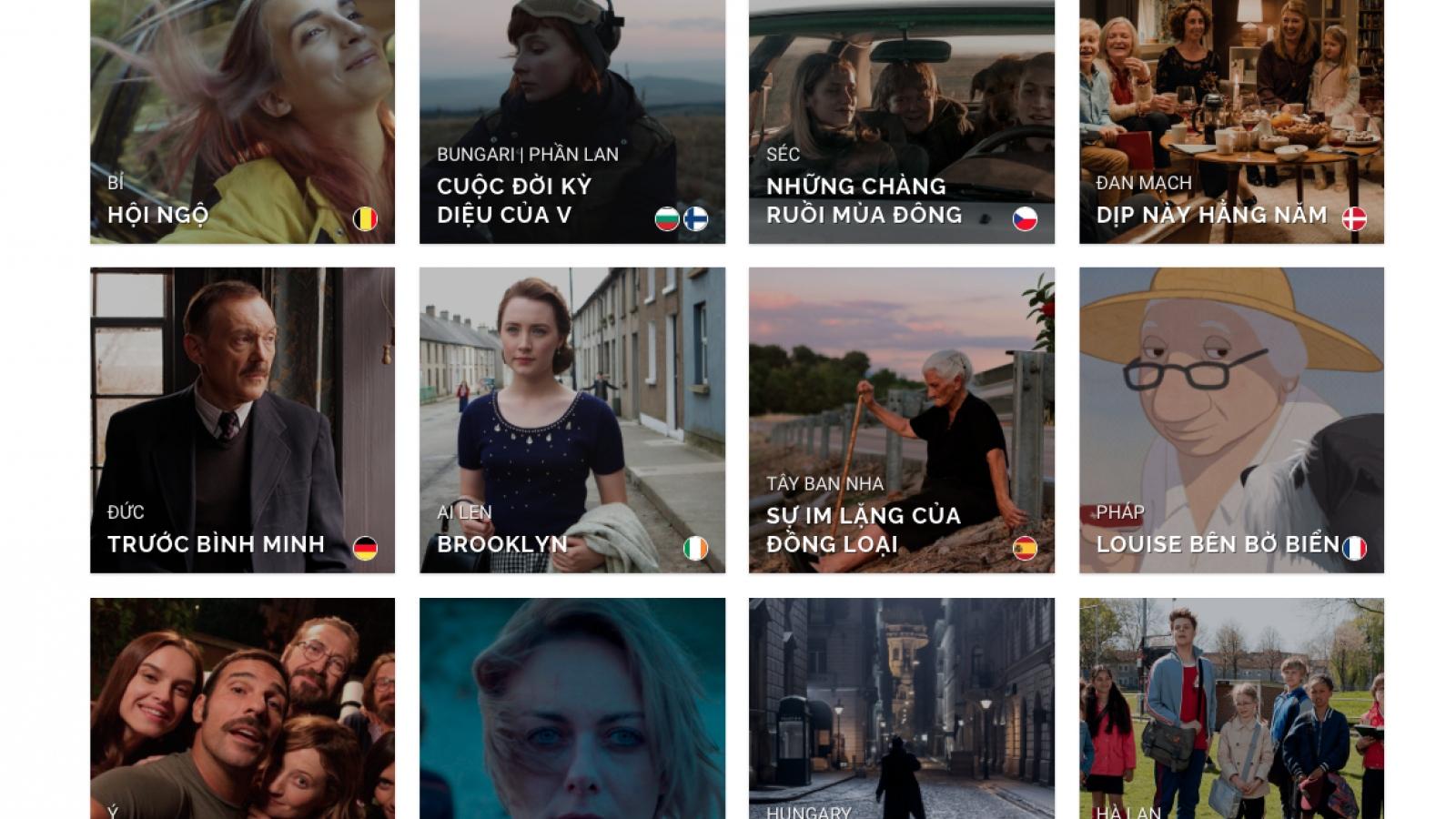 Công chiếu siêu phẩm điện ảnh của 14 quốc gia trong Liên hoan phim châu Âu 2020
