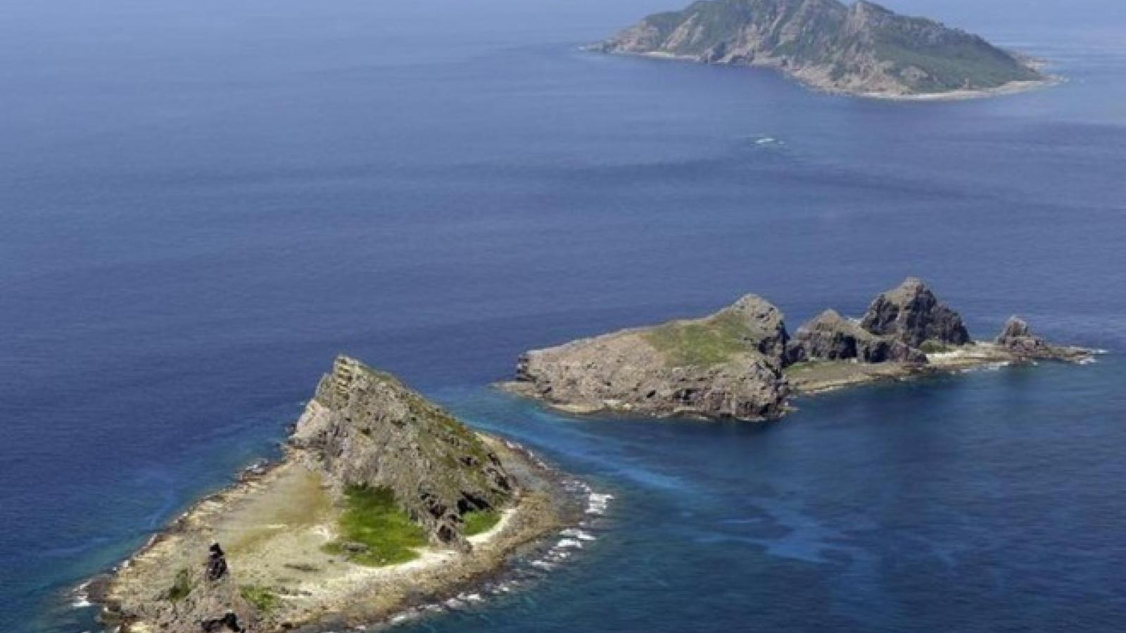"""Nhật Bản """"tố"""" Trung Quốc xâm nhập Senkaku/Điếu Ngư với tần suất kỷ lục"""